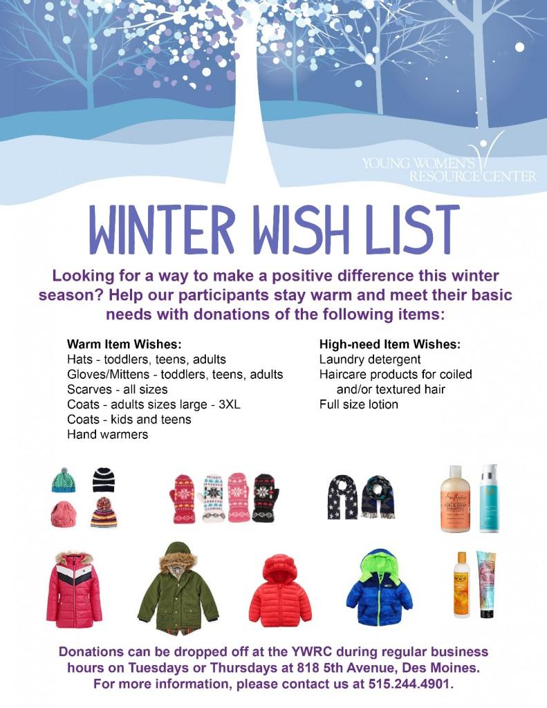 Winter Wish List 2019-2