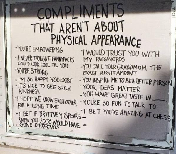 Importance of compliments
